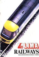 LIMA Model Railway and Train Catalogue