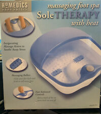 HOMEDICS ~ Sole Therapy MASSAGING FOOT SPA w/Heat
