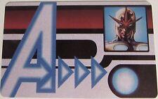 AVID-007 NOVA ID CARD Avengers Assemble Marvel Heroclix