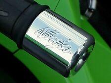 Kawasaki Ninja 250 300 500 650 ZX6 ZX6R ZX9 ZX10 ZX10R ZX11 ZX14 CHROME BAR ENDS