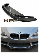 For BMW E92 E90 M3 Carbon Fiber Front Lip Spoiler CRT type