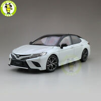 1/18 Toyota Camry 2018 Sport 8th generation Diecast Car Model Toys kids White