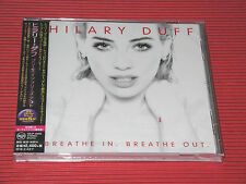 2015 HILARY DUFF Breathe In. Breathe Out. with 3 Bonus Track  JAPAN CD
