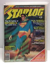 Starlog Magazine #73 (VF/NM) Superman III,  A Matter for men by Alex Nino