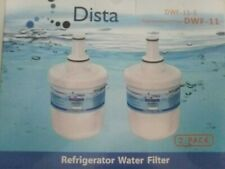 New listing Dista Dwf-11 Replacement Water Filter for Samsung Da29-00003G/B/F/A New 2pk