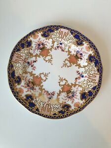 Antique Royal Crown Derby Bone China Side Plate Imari pattern 3788