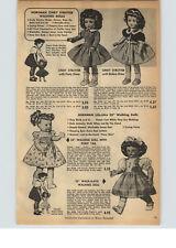 "1956 PAPER AD Horsman Doll Cindy Strutter Walking 23"" Life Like Flexi Love Me"