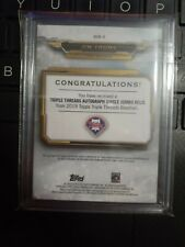 Jim Thome 2019 Topps Triple Threads Patch Auto 40/75 Phillies HOF !!!
