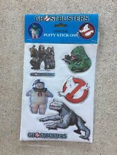 Rare Vintage 1984 Official Ghost Busters Stick-Ons Puffy Stickers