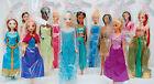 Disney Princess Doll,Frozen Elsa/Anna/Rapunzel/Tiana/Jasmine/Pocahontas/Mulan