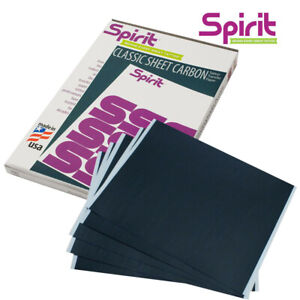 Tattoo transfer carbon paper 50 sheets (High quality) - Genuine Spirit Brand
