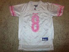 Chicago Bears #8 Reebok Pink NFL Jersey Girls Children SM S 7-8