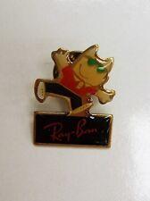 Barcelona 1992 Olympic Mascot Cobi, Sponsor Ray Ban, pin/badge