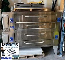 New Listingnew Bakers Pride Y600 Lp Gas Double Stack Pizza Oven Beautiful