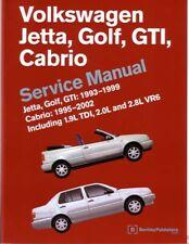 1993-2002 2001 VW Cabrio Golf Jetta GTI Shop Service Repair Manual