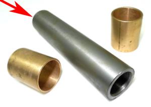 Bottom Steel Mainspring Bushing - Cletrac HG, Oliver OC-3, OC-4 Crawler/Dozer
