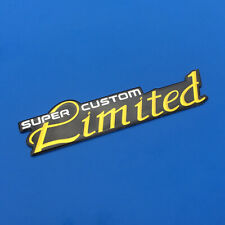Limited Super Custom Emblem Badge Decal Sticker For Buick GMC Cadillac
