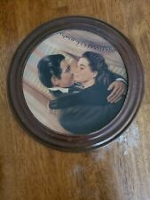 Marry Me, Scarlett - W. L. George 8 1/2 Inch Limited Edition Collector Plate ~