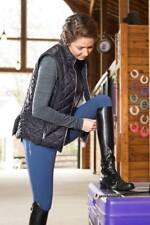 FITS Ainsley Quilted Vest-Black-L