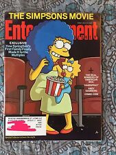 THE SIMPSONS MOVIE * MARGE July 27 2007 ENTERTAINMENT WEEKLY MAGAZINE #945