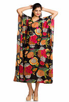 Beach Cover Up Kaftan Boho Hippy New Indian Plus Size Women Dress Caftan Tunic