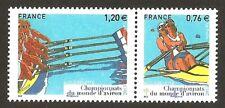FRANCE 2015 - N°4973/74 Championnat du monde d' AVIRON NEUF ** LUXE MNH