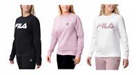 Fila Women's Ladies' French Terry Crewneck Sweatshirt Choose Color Size XS-XXL