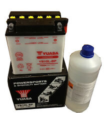 Batteria ORIGINALE Yuasa YB10L-BP + Acido Piaggio Beverly 250 ie 06 07