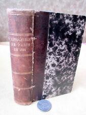 REVOLUTION De PARIS En 1830,1835,Par P. Cuisin