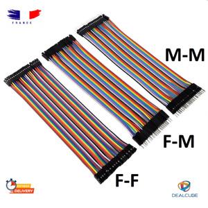 Cavi Dupont 10 CM 20 CM Jumper Wire Breadboard Arduino Cavo MM Mf Ff