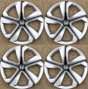 """4 Hubcaps that fit  2016-2018 Honda Civic 16"""" Hubcap Wheel Cover 55099"""