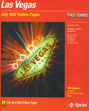 Phonebook Las Vegas July 1999 Yellow Pages-first source Sprint 1922 pages