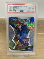 2019 Panini Revolution Groove Luka Doncic #73 - PSA 10 - Pop 7!  Fresh Graded 📈