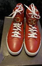 Mens Ferragamo High Top Sneakers