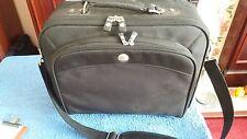 Dell Black Laptop Bag / Briefcase & shoulder strap larger one - used