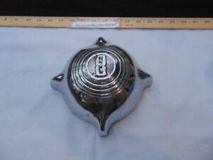Vintage OEM 1949 or 1950 Ford V8 Bullet Nose Center Grill Emblem Used Rat Rod