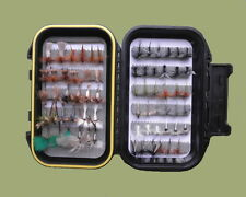 River Fishing Flies, 65 Boxed Set, Named Varieties, Range of sizes, Fly Fishing