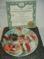 1986 Henri Darceau Limoges La Vitrine Magique Plate w Box and COA