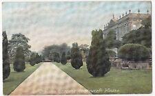 Derbyshire; Chatsworth House, The Italian Gardens PPC By AP c 1910