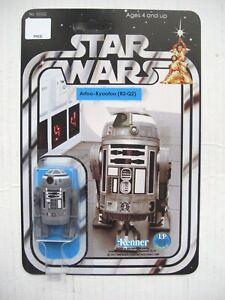 Vintage STAR WARS: R2Q2 R2-Q2 CUSTOM Droid on New Hope Style Card