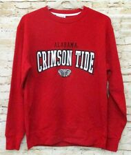 Alabama Crimson Tide Section 101 Crimson Red Sweatshirt Large Licensed Brand New