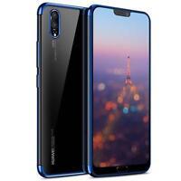 Silikon Glanz Schutzhülle Huawei P20 Pro Case Handy Schutz Hülle Tasche Cover