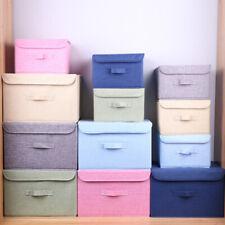 JW_ Foldable Clothing Underwear Storage Box Socks Container Home Wardrobe Orga