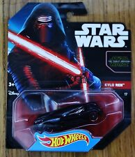STAR WARS Kylo Ren HOT WHEELS die cast Movie Car NWB