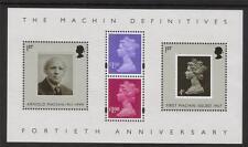 MS2743 2007 40th Anniversary Machin miniature sheet UNMOUNTED MINT/MNH