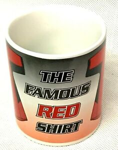 Manchester United Coffee Mug Cup The Famous Red Shirt