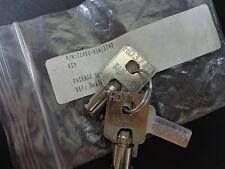 Harley Davidson Barrel Key Ignition/Fork Lock Key Set 71452-91A 3740