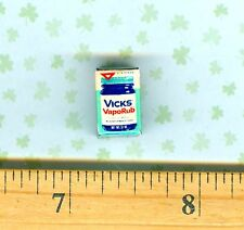 DOLLHOUSE Miniature size Vicks Chest Rub for Colds Box