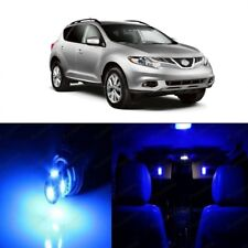 12 x Blue LED Interior Light Package For 2009 - 2014 Nissan Murano + PRY TOOL