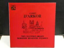ANDRE D'ARKOR Voix illustres belges 1A 153 52640/41 VDSM
